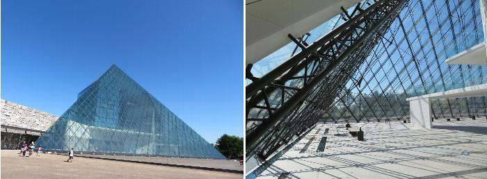 モエレ沼公園ガラスのピラミッド HIDAMARI