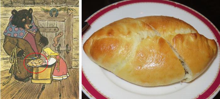 マーシャが作ったお饅頭はピロシキ?