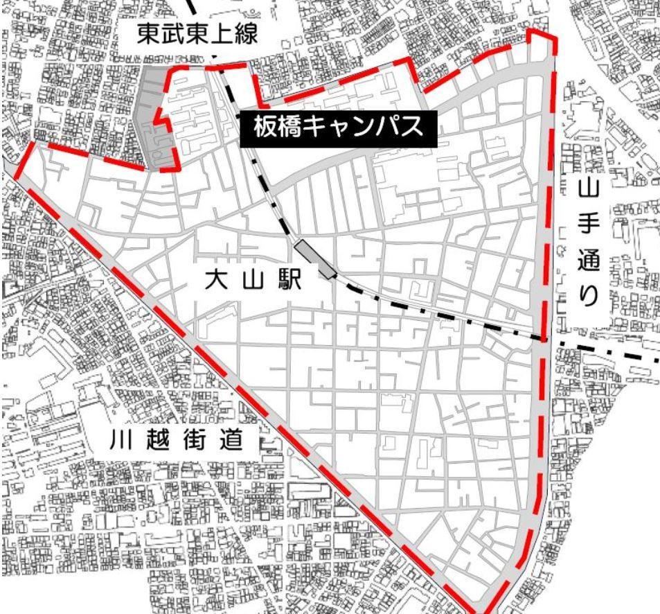 大山駅周辺s