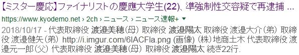 21【ミスター強盗傷害変態強姦魔渡辺陽太渡邉陽太】整形疑惑!