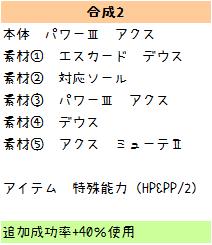131【報酬期間】簡単!6スロ(打撃重視)汎用ユニット(打110 射法65 HP125 PP13)7