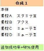 136【報酬期間】簡単!HP重視6スロ汎用ユニット(打射法60 HP200 PP13)4