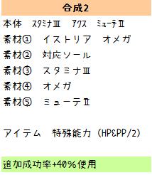 136【報酬期間】簡単!HP重視6スロ汎用ユニット(打射法60 HP200 PP13)5