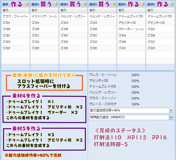 173【報酬期間】簡単!6スロ汎用ユニット(打射法110 HP115 PP16)2