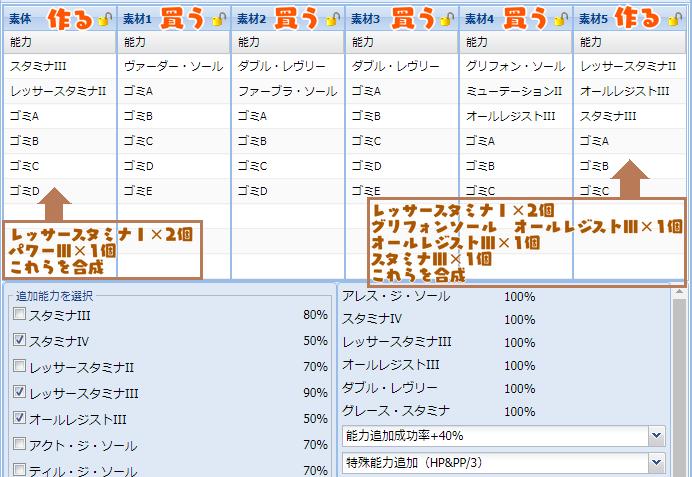 174【報酬期間】簡単!ユニットレシピまとめ7-1