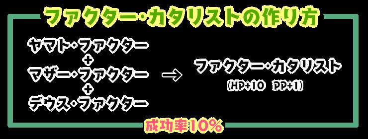 200【特殊能力】エーテル・ファクターの作り方3