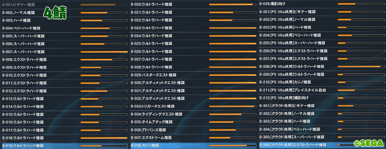201PSO2人口調査【2019年8月生放送ブースト】4