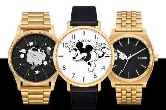 ニクソンのミッキーマウス90周年記念限定モデル