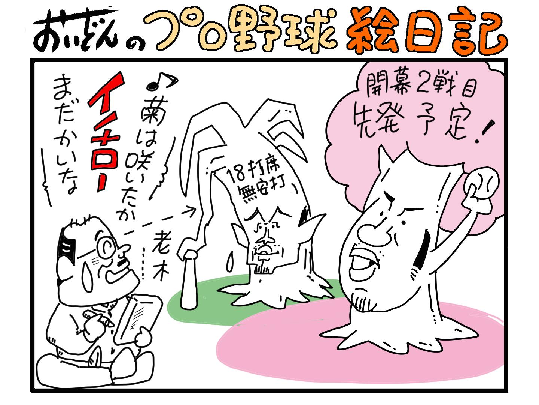 プロ野球絵日記4