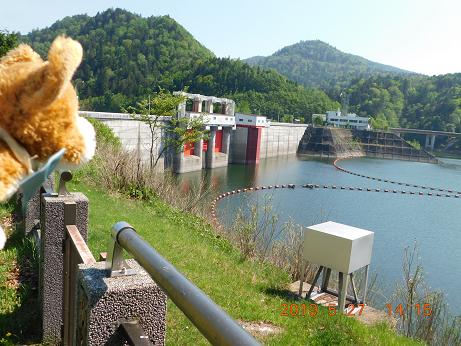 DSCN1788鹿の子ダム (4)