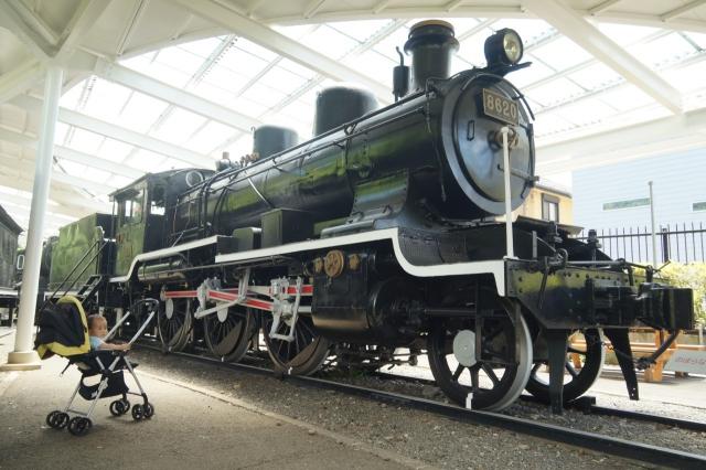 青梅鉄道公園のハチロク