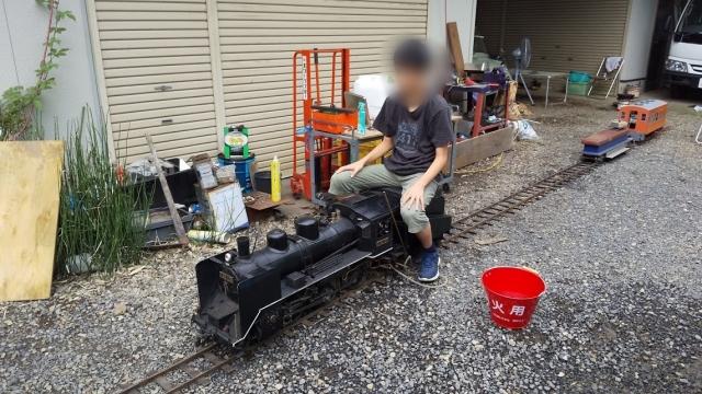 蒸気機関車初体験