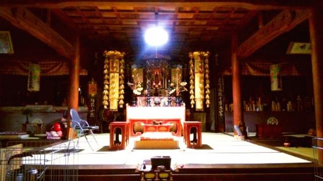 松樹寺の本堂