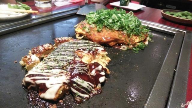 横浜で食べたお好み焼き