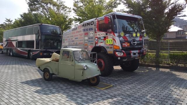 日野ダカール車とミゼット