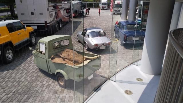 日野コンテッサ900と、トヨタスポーツ800と、ミゼット