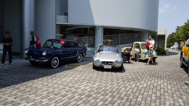 日野コンテッサ900、トヨタスポーツ800、ミゼット