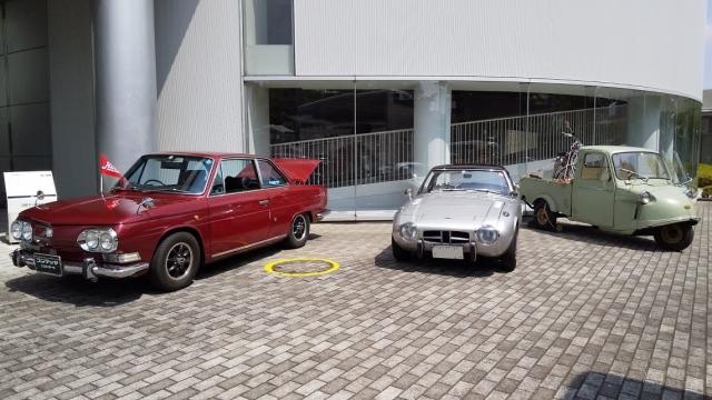 コンテッサとヨタ8とミゼット