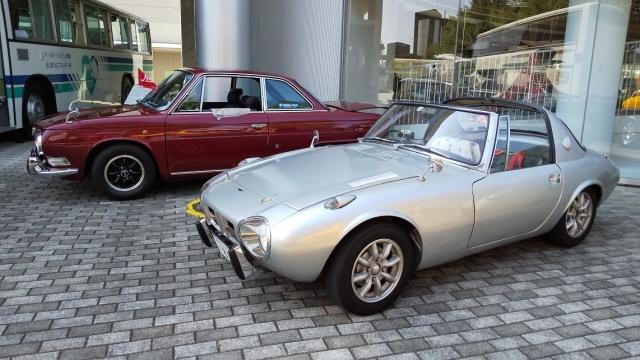 日野コンテッサとトヨタスポーツ800