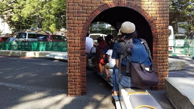 トンネルに侵入 N700新幹線