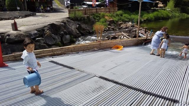 梁の魚が出る仕組み 排出側