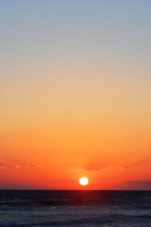 夕陽2018・10・28・1