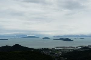 展望台から豊島方面2
