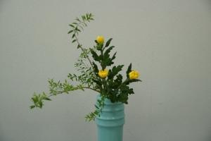 瓶花正面1
