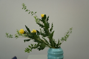 瓶花側面2