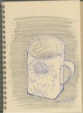 マグカップ紅茶用1