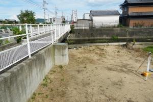 寒川町の敷地1