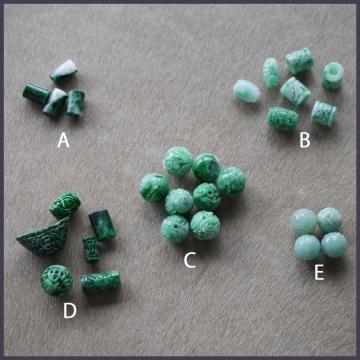 緑色のパーツ (1)