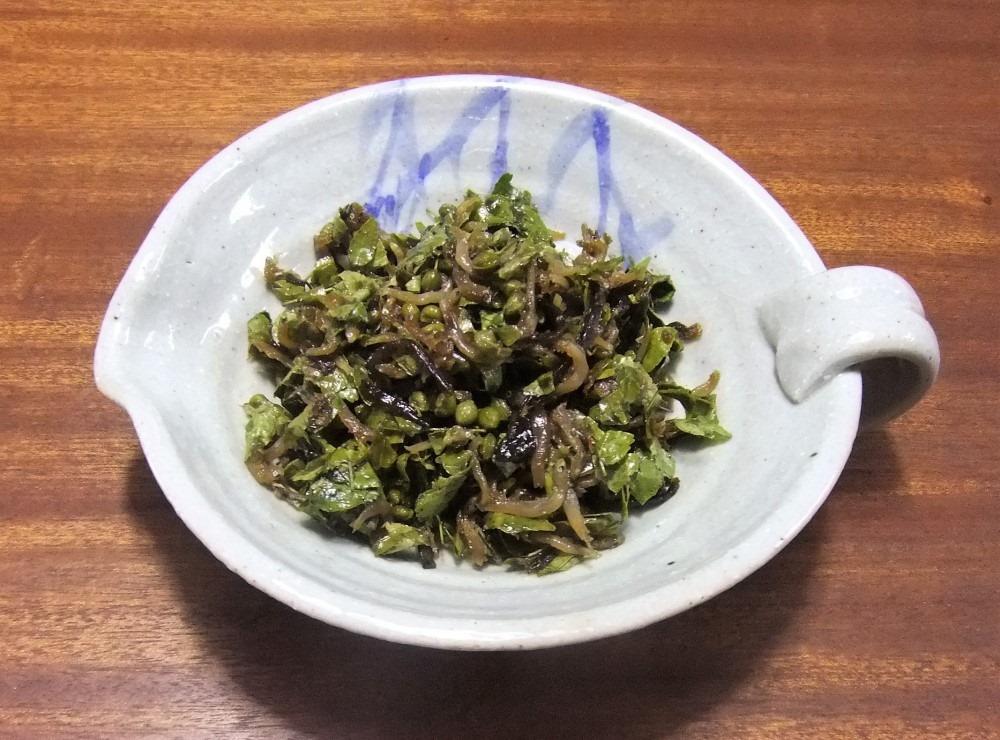 山椒 の 葉 の 佃煮