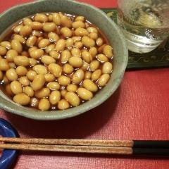 大豆の甘辛