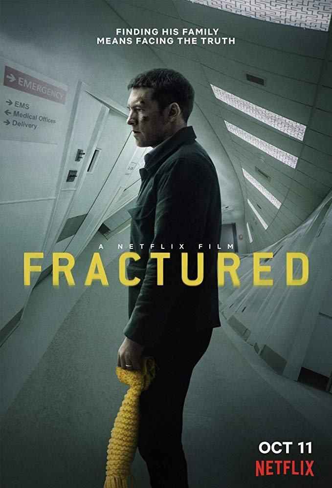 サムの新作Netflix「FRACTURED」のポスターと予告