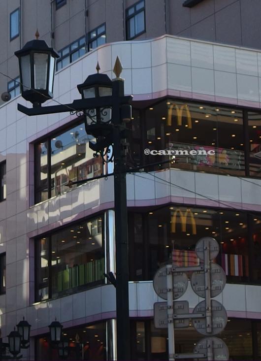 街灯とマック
