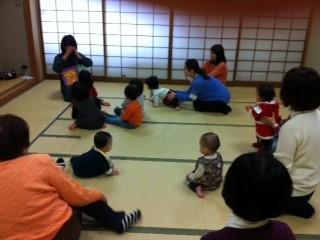 マザーグースの歌を使った親子教室 写真