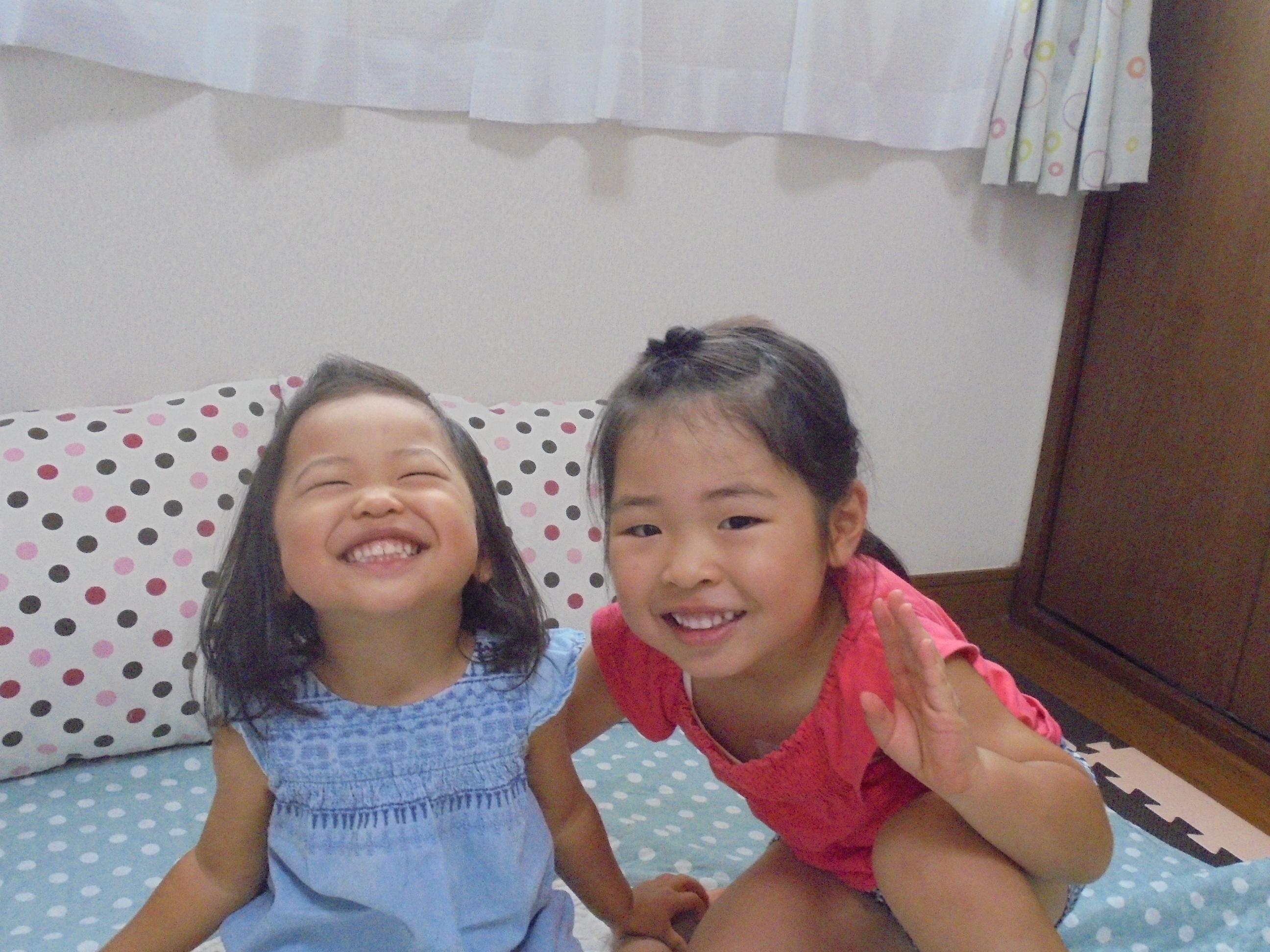 仲良し姉妹