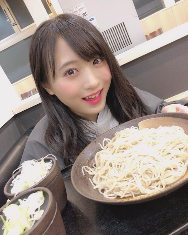 なぎちゃん、ゆで太郎で蕎麦を食う