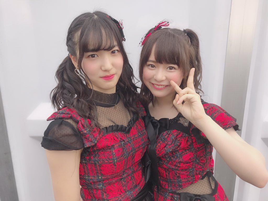 タイ王国ツインテール仕様のチーム8倉野尾成美ちゃんがとても可愛らしい