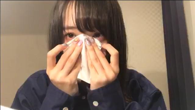 横山結衣ちゃんが震災で亡くなった人たちのために泣く