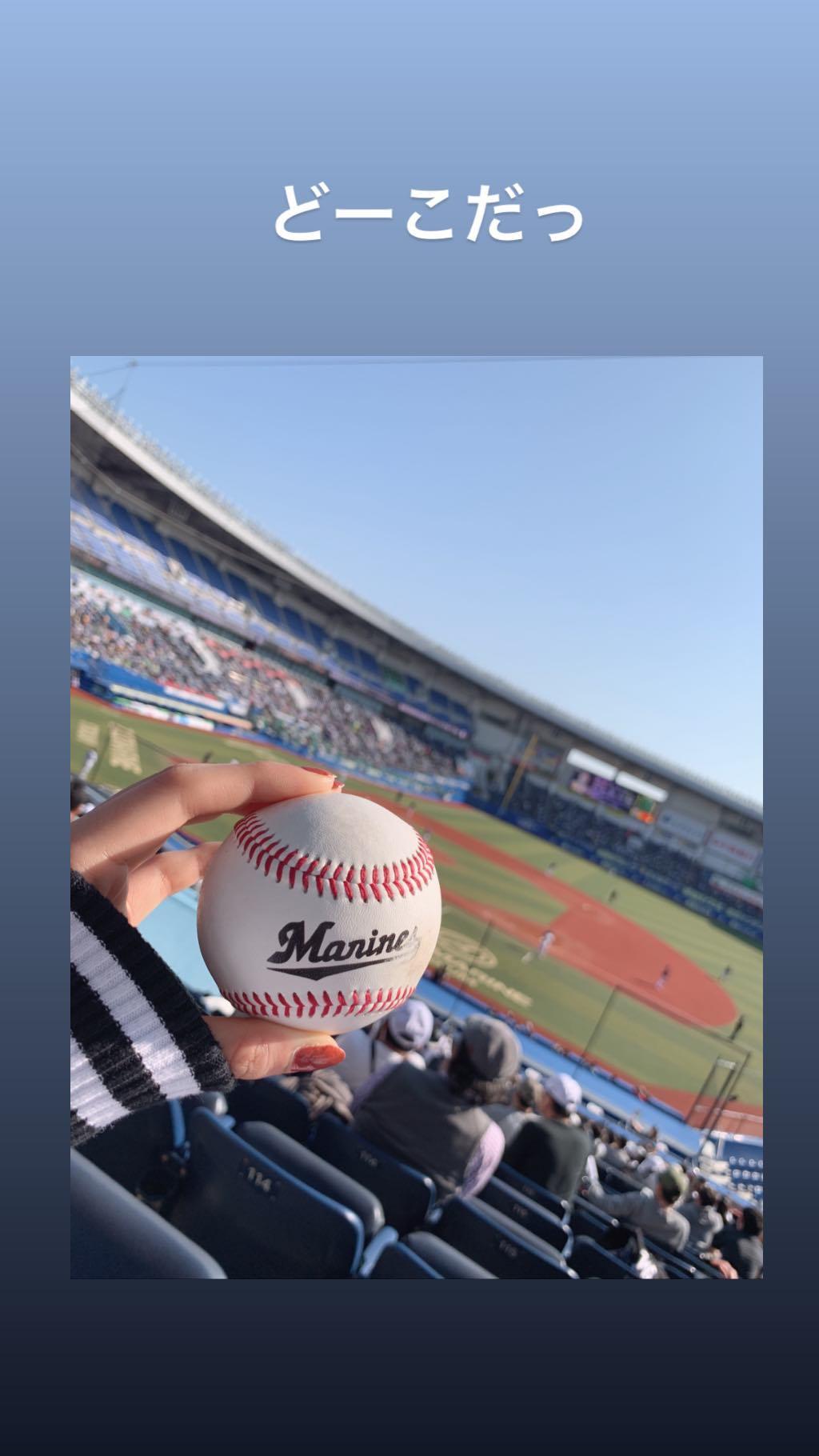 【朗報】 国民的アイドル 外野席で野球を観覧するw w w w w w w w w w w w w w w w