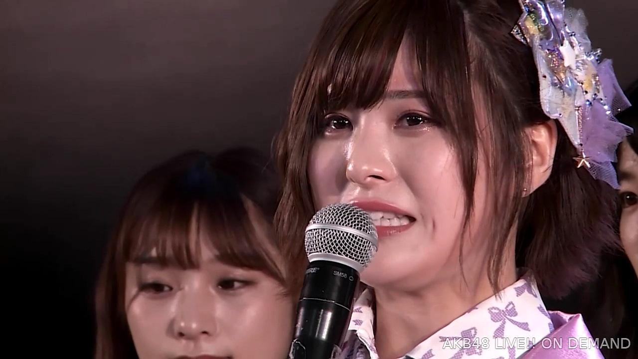 佐藤栞が卒業発表【チーム8】