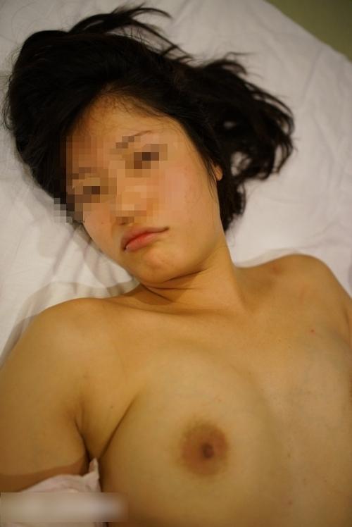 巨乳な美人性奴隷のハメ撮り画像 3