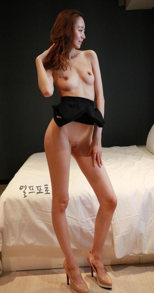 韓国美女モデルのヌード画像 3