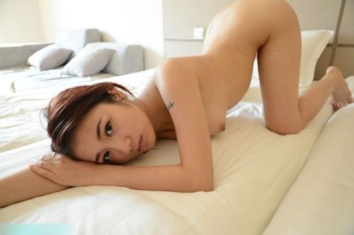 中国美女モデル 恭子 セクシーヌード画像 12