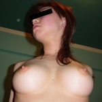 美巨乳素人美女のまんぐり返し流出ヌード画像