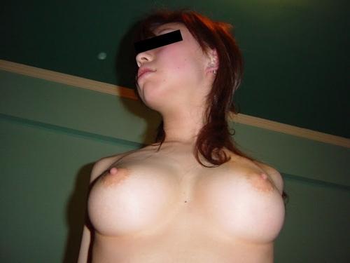 美巨乳素人美女のまんぐり返し流出ヌード画像 4