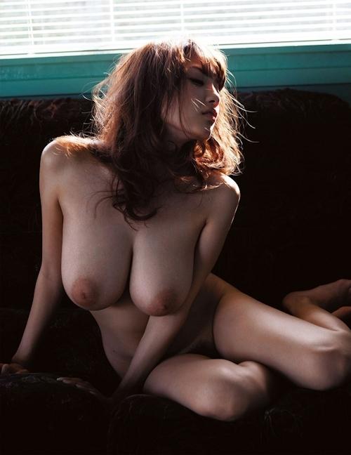 Jカップ爆乳美女 RION(リオン) セクシーヌード画像 7