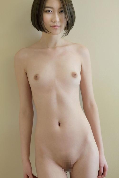 中国スレンダー美女モデルのヌード画像 7